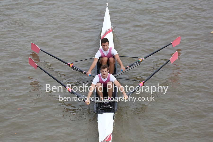 Crew: 10   WES-SWANN    Westminster School Boat Club    Op 2x Champ <br /> <br /> Pairs Head 2017<br /> <br /> To purchase this photo, or to see pricing information for Prints and Downloads, click the blue 'Add to Cart' button at the top-right of the page.