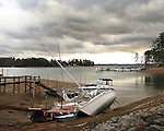 USA Weather-storm clouds over LAKE MURRAY NEAR COLUMBIA, South Carolina 11th december 2013© Catherine Brown