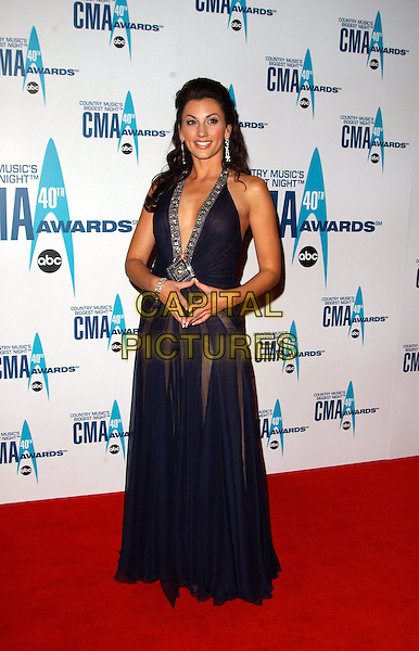 6 November 2006 - Nashville, Tennessee - Danielle Peck. The 40th Annual CMA Awards held at the Gaylord Entertainment Center. Photo Credit: George Shepherd/AdMedia
