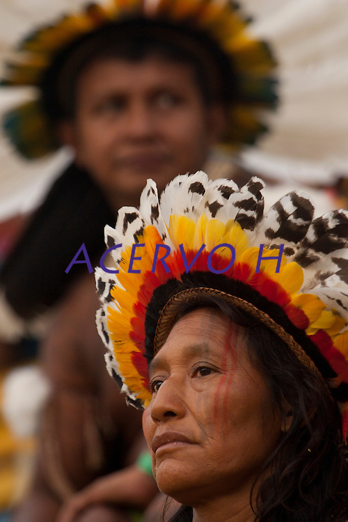 XI Jogos indígenas.<br /> Rikibaktsa do Mato Grosso.<br /> Porto Nacional, Tocantins, Brasil.<br /> Foto Paulo Santos.<br /> 07/11/2011.