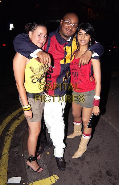 DAVY DIAMOND & FRIENDS.(CHOICE FM DJ).www.capitalpictures.com.sales@capitalpictures.com.© Capital Pictures. .