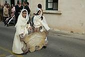 Catholic Easter Procession in Rabat, Malta