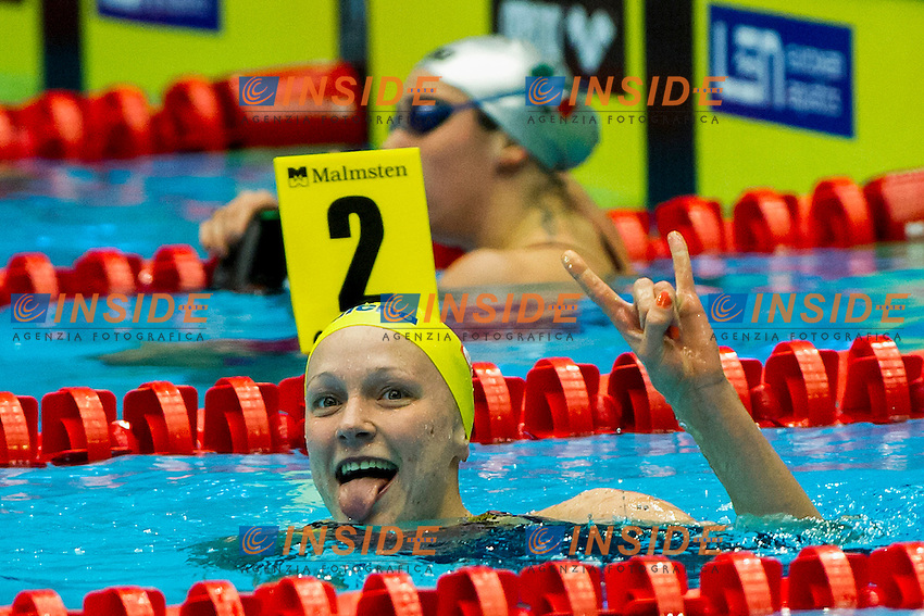 SJOESTROEM Sarah Sweden SWE<br /> 50 Butterfly Women Gold Medal<br /> XVII European Short Course Swimming Championships<br /> Herning - DEN Denmark Dic. 12-15 2013<br /> Day02 - Dec. 13 2013 Final<br /> Photo A.Masini/Deepbluemedia/Inside
