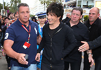 "Nicola Sirkis  from "" Indochine "" band, strolling in Cannes - 67th Cannes Film Festival - France"