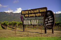 Welcome to the Napa Valley! Even though California is a bit smaller than France, it accounts for nearly ninety percent of all American wine production. If California were a separate country, it would be the world's fourth largest wine producer. But Napa and Sonoma counties are much more than merely wine production.  Redwood forests, hot spring resorts and 5 star dining are all part of the scene.