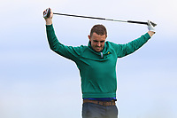 Alan Lowry (Esker Hills) on the 10th during Round 4 of The East of Ireland Amateur Open Championship in Co. Louth Golf Club, Baltray on Monday 3rd June 2019.<br /> <br /> Picture:  Thos Caffrey / www.golffile.ie<br /> <br /> All photos usage must carry mandatory copyright credit (© Golffile | Thos Caffrey)