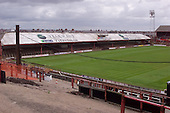23/06/2000 Blackpool FC Bloomfield Road Ground..East stand from the home section of the Kop......© Phill Heywood.