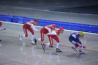 SCHAATSEN: IJSSTADION THIALF: 17-06-2013, Training zomerijs, Team Corendon, ©foto Martin de Jong