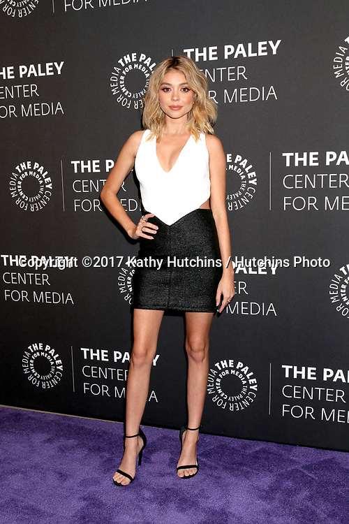 """LOS ANGELES - MAY 18:  Sarah Hyland at the 2017 PaleyLive LA - """"Dirty Dancing: The New ABC Musical Event"""" Premiere Screening And Conversation at the Paley Center for Media on May 18, 2017 in Beverly Hills, CA"""