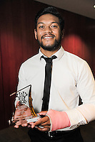 Tomasi Alosio. 2016 Wellington Rugby Union Awards at Te Papa in Wellington, New Zealand on Saturday, 29 October 2016. Photo: Dave Lintott / lintottphoto.co.nz