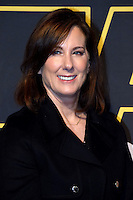 "Producer Kathleen Kennedy parade red carpet event to promote the Fan ""Star Wars: The Force wakes"" at Antara Fashion Mall in Mexico City, Tuesday, December 8, 2015. Photo: ©Francisco Morales/DAMMPHOTO/NortePhoto"