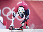 Kevin Boyer (CAN). Skeleton training. Alpensia sliding centrePyeongchang2018 winter Olympics. Alpensia. Republic of Korea. 13/02/2018. ~ MANDATORY CREDIT Garry Bowden/SIPPA - NO UNAUTHORISED USE - +44 7837 394578