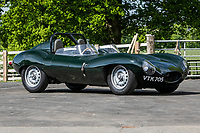 BNPS.co.uk (01202 558833)<br /> Pic: SilverstoneAuctions/BNPS<br /> <br /> Pictured: 1962 Jaguar D-Type 'ShortNose'<br /> <br /> A quirky collection of rare and unusual cars is set to go under the hammer for more than £300,000.<br /> <br /> The group of 16 classic motors range from hand-built replica racing cars to barely used family saloons.<br /> <br /> They are currently owned by an esteemed British collector but have now been consigned to sale with Silverstone Auctions of Ashorne, Warwicks.
