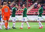 ***BETALBILD***  <br /> Solna 2015-07-25 Fotboll Superettan Athletic FC United - J&ouml;nk&ouml;pings S&ouml;dra IF :  <br /> J&ouml;nk&ouml;ping S&ouml;dras Fredrik Olsson firar sitt 1-3 m&aring;l med Fredric Fendrich och lagkamrater under matchen mellan Athletic FC United och J&ouml;nk&ouml;pings S&ouml;dra IF <br /> (Foto: Kenta J&ouml;nsson) Nyckelord:  Superettan Skytteholm Skytteholms IP AFC Athletic FC United J&ouml;nk&ouml;ping J-S&ouml;dra jubel gl&auml;dje lycka glad happy