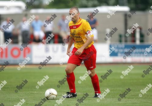 2010-08-01 / Seizoen 2010-2011 / Voetbal / Duffel / Kris Janssens..Foto: mpics