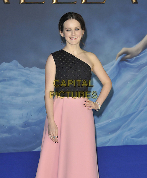 LONDON, ENGLAND - MARCH 19: Sophie McShera attends the &quot;Cinderella&quot; UK film premiere, Odeon Leicester Square cinema, Leicester Square, on Thursday March 19, 2015 in London, England, UK. <br /> CAP/CAN<br /> &copy;Can Nguyen/Capital Pictures