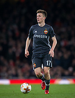 Aleksandr Golovin of CSKA Moscow during the UEFA Europa League QF 1st leg match between Arsenal and CSKA Moscow  at the Emirates Stadium, London, England on 5 April 2018. Photo by Andrew Aleksiejczuk / PRiME Media Images.