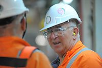 Dr Donald Lamont. Worksafe High Hazard Unit photoshoot at Waterview Tunnel, Auckland, New Zealand on Wednesday, 19 March 2014. Photo: Dave Lintott / lintottphoto.co.nz