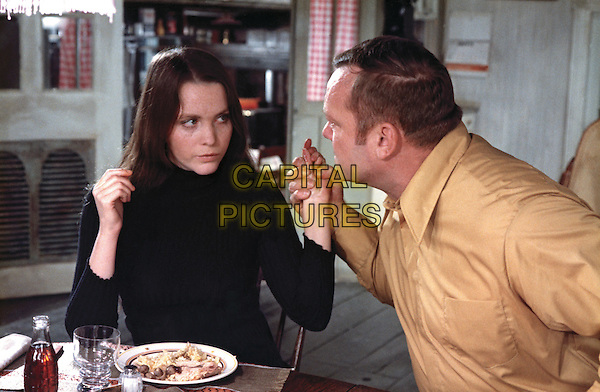 Tisa Farrow, Aldo Ray<br /> in And Hope to Die (1972) <br /> (La course du lievre a travers les champs)<br /> *Filmstill - Editorial Use Only*<br /> CAP/NFS<br /> Image supplied by Capital Pictures