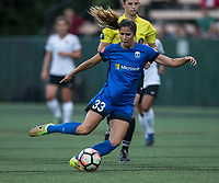 Seattle, WA - Saturday July 22, 2017: Katlyn Johnson during a regular season National Women's Soccer League (NWSL) match between the Seattle Reign FC and Sky Blue FC at Memorial Stadium.
