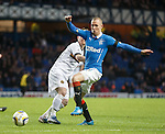 Kenny Miller dances his way through on goal