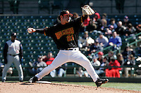 Rochester Red Wings Beau Kemp during an International League game at Frontier Field on April 9, 2006 in Rochester, New York.  (Mike Janes/Four Seam Images)