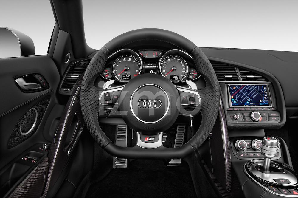 2014 Audi R8 Spyder Convertible Steering Wheel