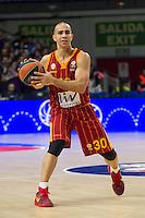 Galatasaray´s Arroyo during 2014-15 Euroleague Basketball match between Real Madrid and Galatasaray at Palacio de los Deportes stadium in Madrid, Spain. January 08, 2015. (ALTERPHOTOS/Luis Fernandez) /NortePhoto /NortePhoto.com