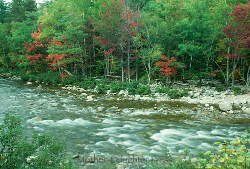 Swift River Kancamagus pass New Hampshire, Oct.