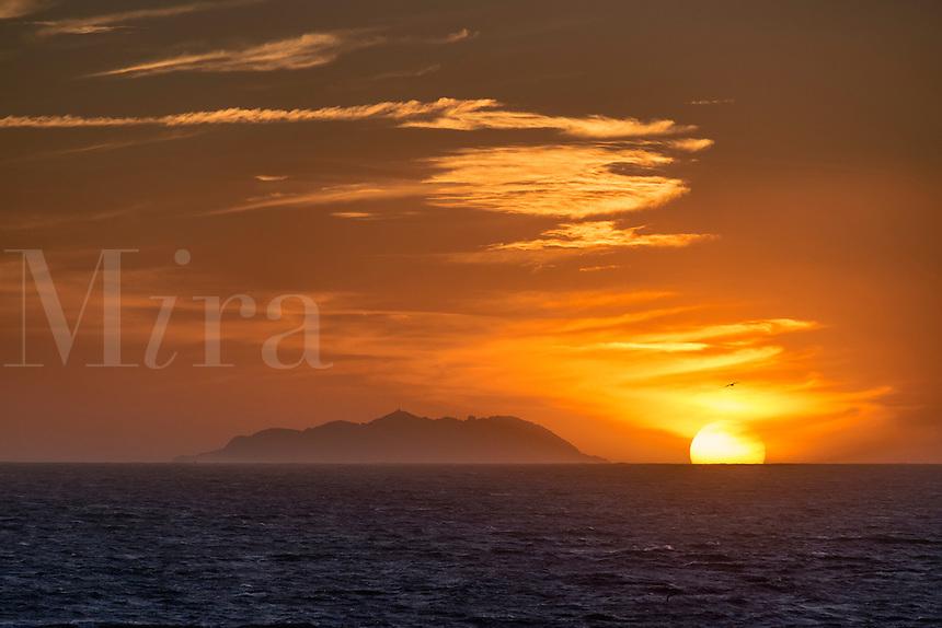 Ocean sunrise, French Riviera