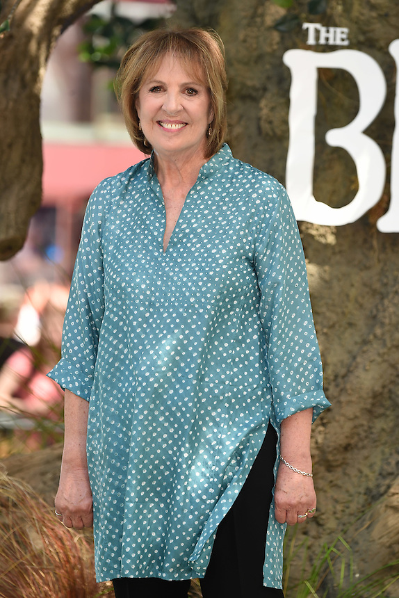 "Penelope Wilton<br /> arrives for the ""BFG"" premiere at the Odeon Leicester Square, London.<br /> <br /> <br /> ©Ash Knotek  D3141  17/07/2016"
