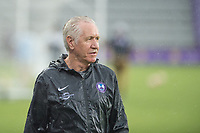 Orlando, FL - Saturday July 01, 2017: Head Coach Tom Sermanni during a regular season National Women's Soccer League (NWSL) match between the Orlando Pride and the Chicago Red Stars at Orlando City Stadium.