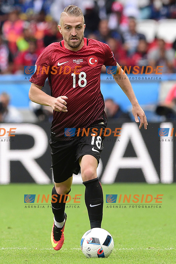 Caner Erkin (Turkey)  <br /> Paris 12-06-2016 Parc des Princes Football Euro2016 Turkey - Croatia / Turchia - Croazia Group Stage Group D. Foto Panoramic / Insidefoto