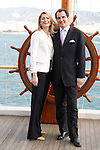 Prince Nikolaos of Greece with his fiance Tatiana Blatnik