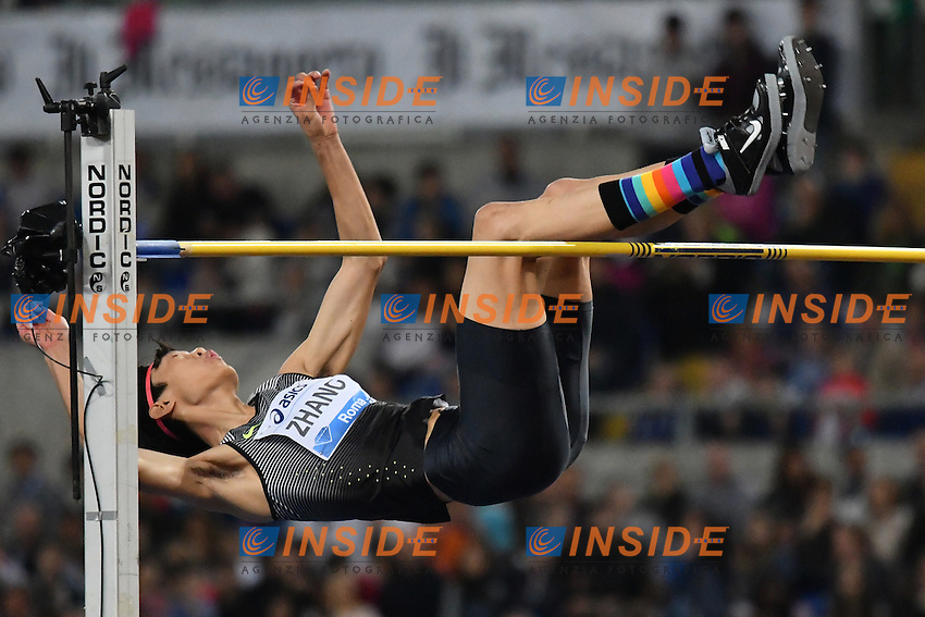 Guowei ZHANG CHN High Jump <br /> Roma 02-06-2016 Stadio Olimpico <br /> IAAF Diamond League Golden Gala <br /> Atletica Leggera<br /> Foto Andrea Staccioli / Insidefoto