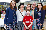Enjoying  the Dairymaster 50th Anniversary BBQ in the Ballygarry Hotel on Sunday. Front l-r, Aiden Brennan, Lilly Linehan, Martina Dowling, Joan Brennan, Pat Sheehan and Julie Linehan.