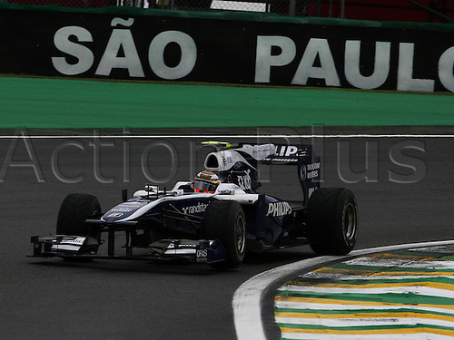 06 11 2010  Melzer Formula 1 GP Brazil at Interlago  Nico Hulkenberg Williams Cosworth Pole motor racing  Formula 1 F1 F World Cup GP Brazil Sao Paulo Interlagos