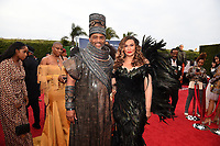 SANTA MONICA - JUNE 1: Richard Lawson and Tina Knowles Lawson attends the 3rd Annual Wearable Art Gala at Barker Hangar on June 1, 2019 in Santa Monica, California. (Photo by Frank Micelotta/PictureGroup)