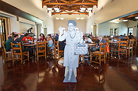 Alumni have lunch at the Marketplace and Gresham Dining Hall as part of a throwback celebration in tribute to longtime Oxy food director Clancy Morrison, Occidental College's annual Alumni Reunion, Saturday, June 13, 2015.<br /> (Photo by Marc Campos, Occidental College Photographer)