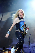IRON MAIDEN - Janick Gers -  performing live on Day Three on the Lemmy Stage at the Download Festival at Donington Park UK - 12 Jun 2016.  Photo credit: Zaine Lewis/IconicPix