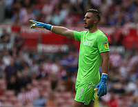 Stoke City's Jack Butland <br /> <br /> Photographer Stephen White/CameraSport<br /> <br /> The EFL Sky Bet Championship - Stoke City v Queens Park Rangers - Saturday 3rd August 2019 - bet365 Stadium - Stoke-on-Trent<br /> <br /> World Copyright © 2019 CameraSport. All rights reserved. 43 Linden Ave. Countesthorpe. Leicester. England. LE8 5PG - Tel: +44 (0) 116 277 4147 - admin@camerasport.com - www.camerasport.com