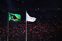 General view, <br /> AUGUST 5, 2016 : <br /> Opening Ceremony <br /> at Maracana <br /> during the Rio 2016 Olympic Games in Rio de Janeiro, Brazil. <br /> (Photo by Yohei Osada/AFLO SPORT)