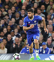 Diego Costa of Chelsea during the Premier League match between Chelsea and Manchester City at Stamford Bridge on April 5th 2017 in London, England.<br /> Foto PHC Images / Panoramic / Insidefoto <br /> ITALY ONLY