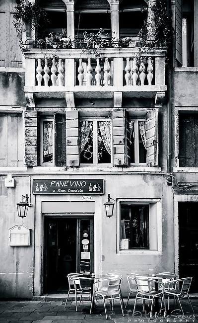 Pane Vino e San Daniele cafe bar & restaurant in Venice, Italy