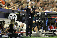 AS Monaco FC's coach Leonardo Jardim during Champions League 2015/2016 Play-Offs 1st leg match. August  19,2015. (ALTERPHOTOS/Acero)