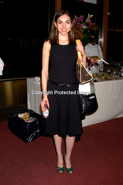 Eden Riegel ..at the 12th Annual Gala for The League for the Hard of Hearing called Feast With Famous Faces on October 18, 2004 at JP Morgan Chase. ..Photo by Robin Platzer, Twin Images