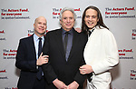 Richie Jackson, Harvey Fierstein and Jordan Roth attends The Actors Fund Annual Gala at Marriott Marquis on April 29, 2019  in New York City.