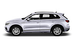 Car Driver side profile view of a 2019 Volkswagen Touareg Business-Atmosphere 5 Door SUV Side View