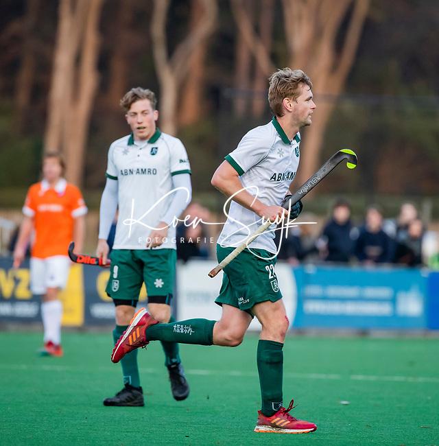 BLOEMENDAAL - Blair Tarrant (Rdam)  tijdens  hoofdklasse competitiewedstrijd  heren , Bloemendaal-Rotterdam (1-1) .COPYRIGHT KOEN SUYK