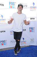 11 August 2016 - Los Angeles, California. Mathieu Forget. Clayton Kershaw's 4th Annual Ping Pong 4 Purpose Celebrity Tournament held at Dodger Stadium. Photo Credit: Birdie Thompson/AdMedia